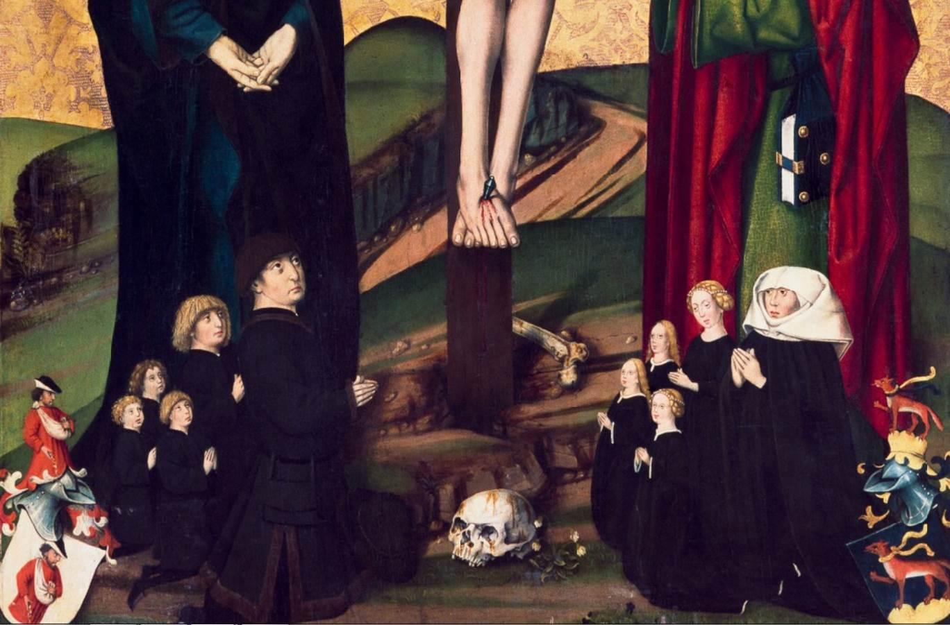Kreuzigung Christi, Nördlingen, Stadtmuseum, 1462.