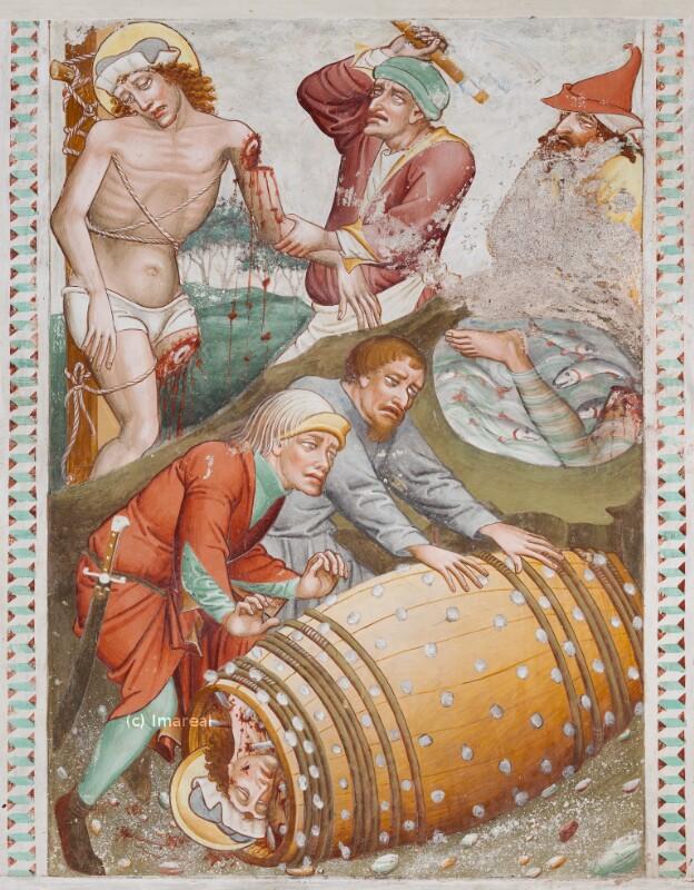 Hl. Georg werden die Glieder abgeschlagen von Thomas von Villach