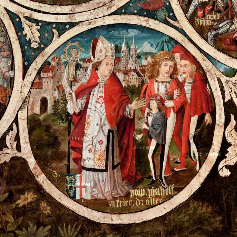 Poppo, Erzbischof von Trier von Part Hans