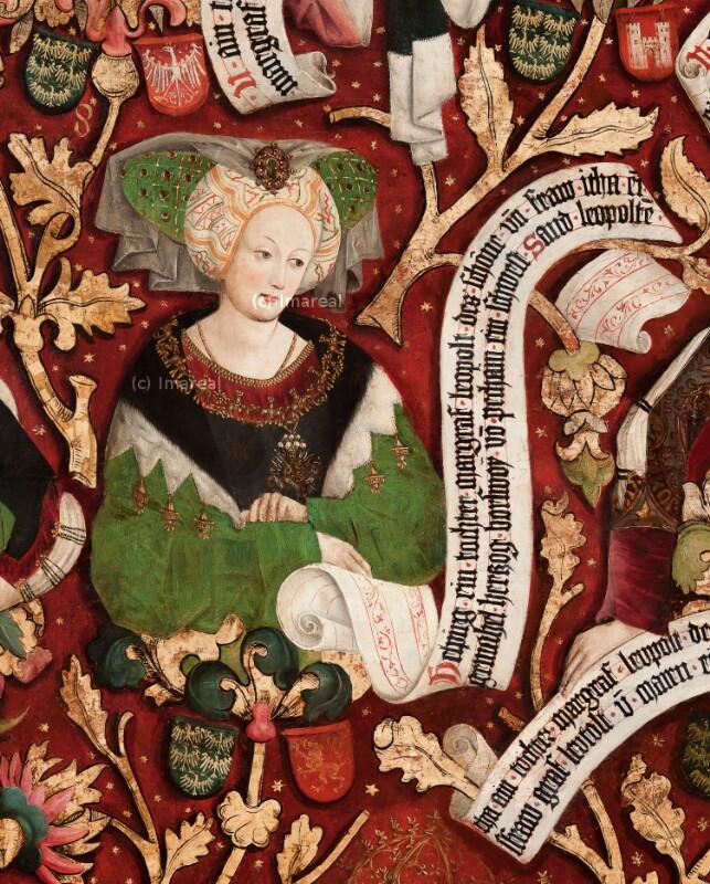 Helpirg, Tochter Leopolds II. des Schönen, Gattin Herzog Boriwojs von Böhmen von Part Hans