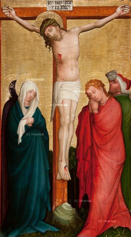 Kreuzigung Christi von Meister der Klosterneuburger Darbringung