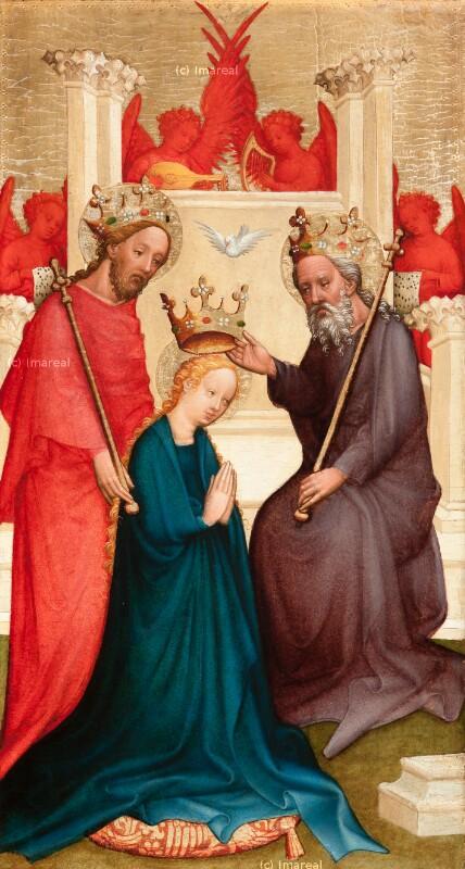 Krönung Mariens von Meister der Klosterneuburger Darbringung