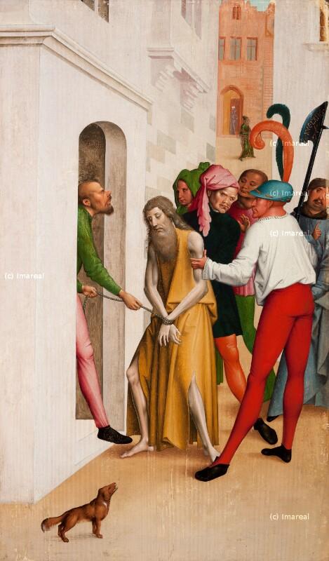 Gefangennahme des Hl. Johannes des Täufers von Frueauf Rueland der Jüngere