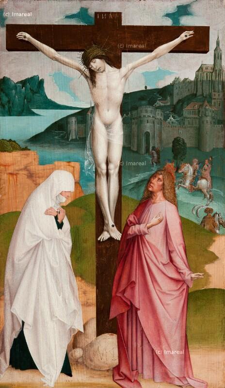 Kreuzigung Christi von Frueauf Rueland der Jüngere
