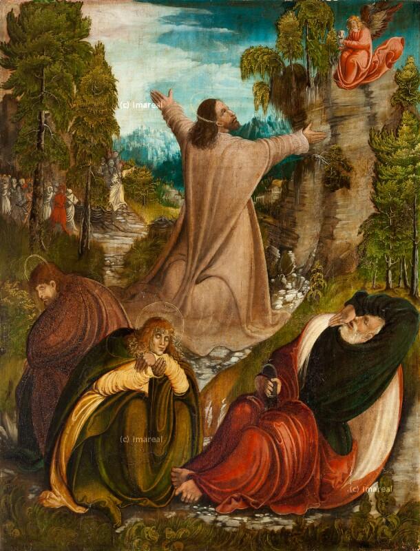 Gebet Jesu am Ölberg von Meister von Pulkau