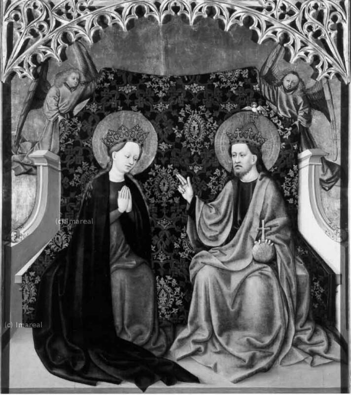 Krönung Mariens von Meister des Albrechtsaltars