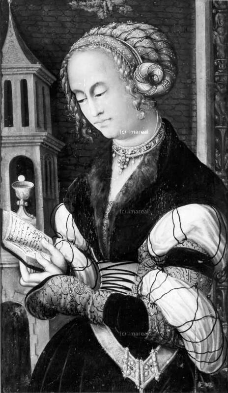 Hl. Barbara von Cranach-Umkreis