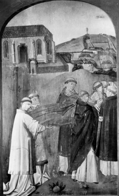 Bestattung des Hl. Leonhard