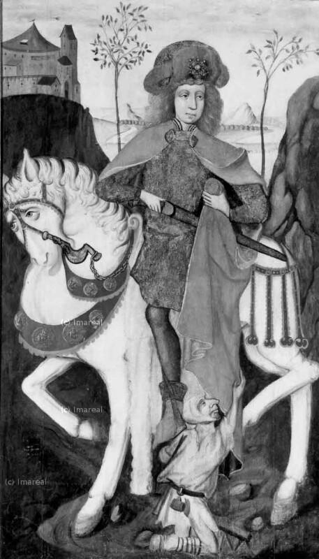 Hl. Martin von Meister des Bad Ausseer Friedrich-Altars
