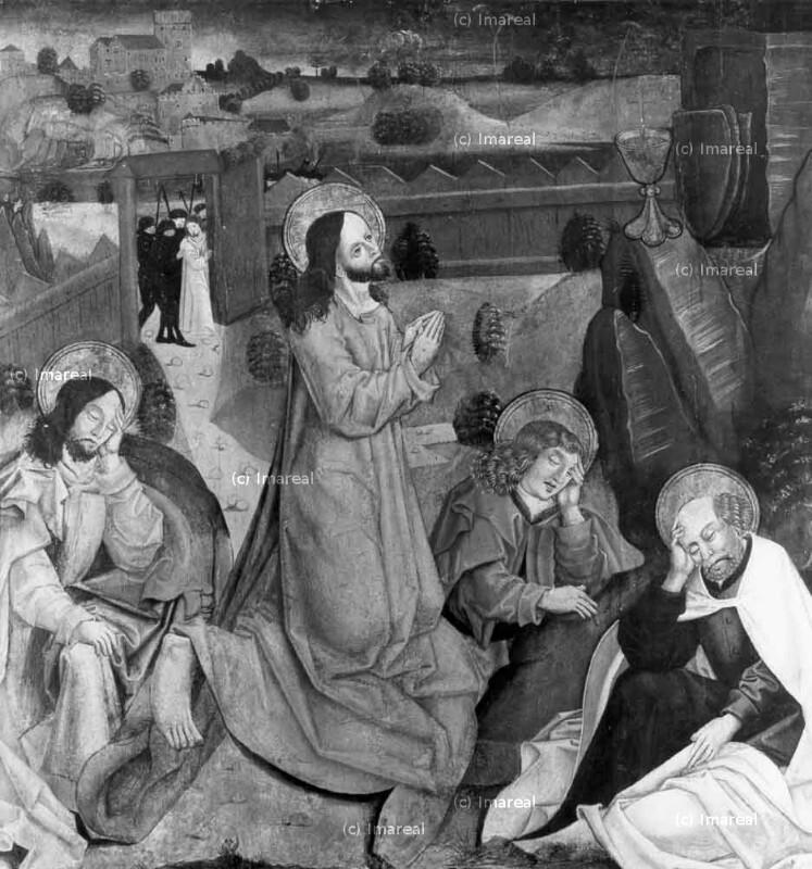 Gebet Jesu am Ölberg von Meister S. H. von 1485