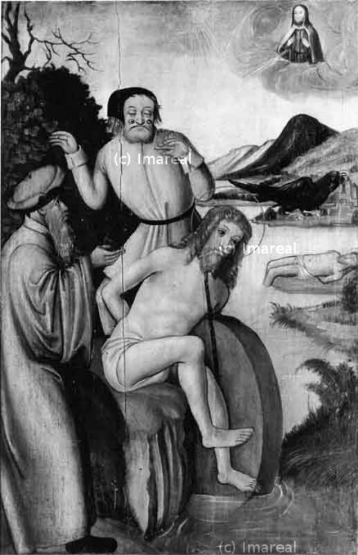 Hl. Florian wird in die Enns gestürzt