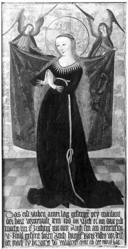 Hl. Maria im Ährenkleid