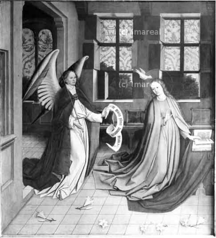 Verkündigung an Maria von Multscher-Umkreis