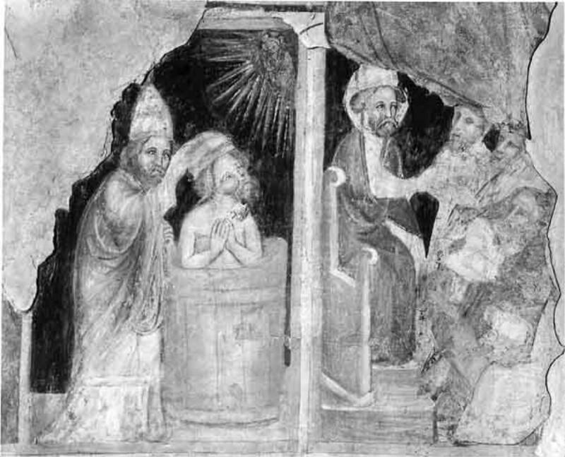 Taufe durch den Hl. Silvester