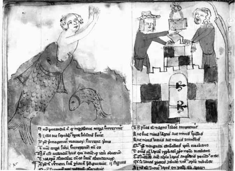 Symbol von Christus als Schlussstein der Kirche
