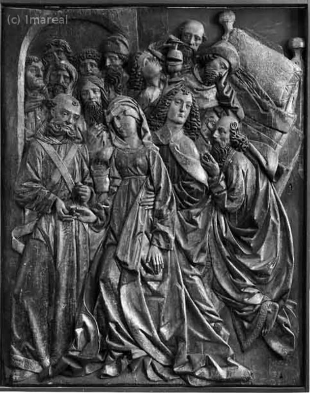Tod Mariens von Meister des Kefermarkter Altars-Umkreis
