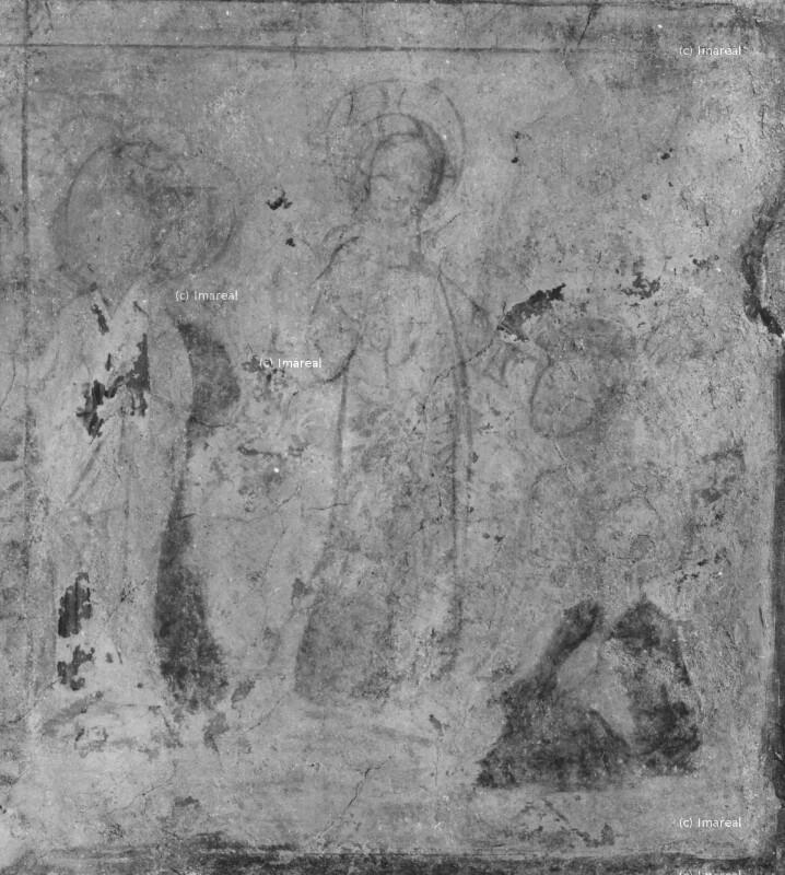 Christus und die Jünger im Garten Gethsemane