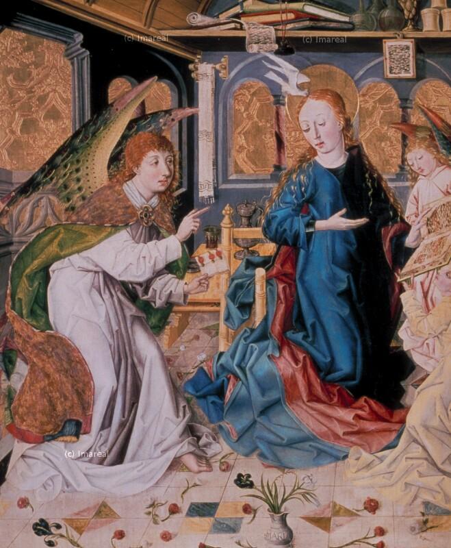 Verkündigung an Maria von Meister des Eggelsberger Altars