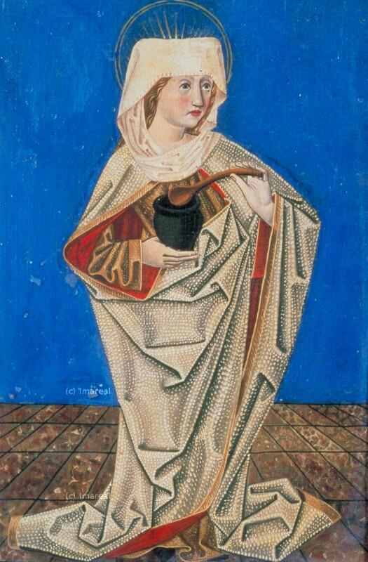 Hl. Martha von Meister S. H. von 1485