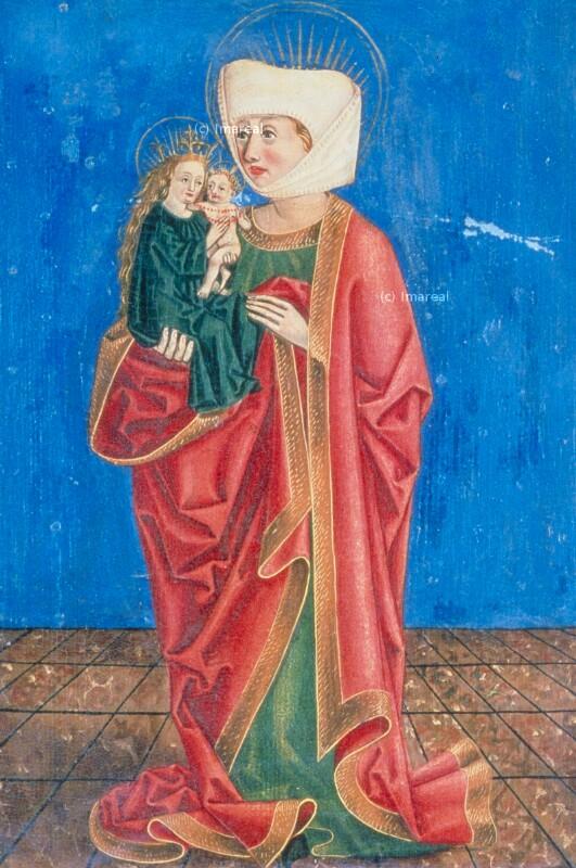 Hl. Anna Selbdritt von Meister S. H. von 1485