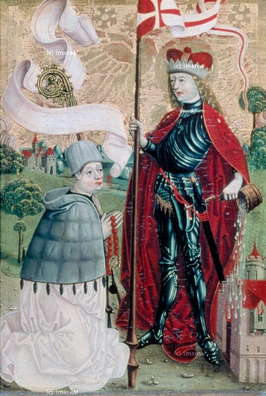 Hl. Florian von Meister S. H. von 1485