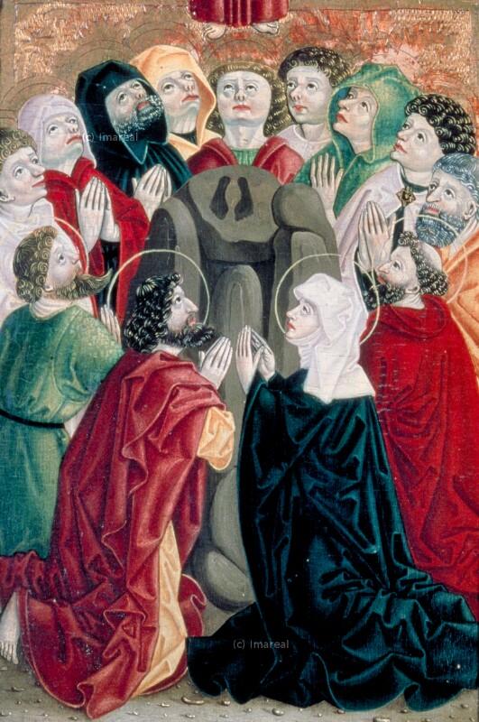 Himmelfahrt Christi von Meister S. H. von 1485