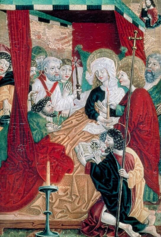 Tod Mariens von Meister S. H. von 1485