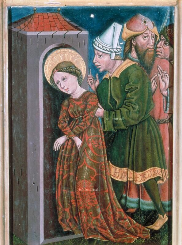 Einkerkerung der Hl. Margareta