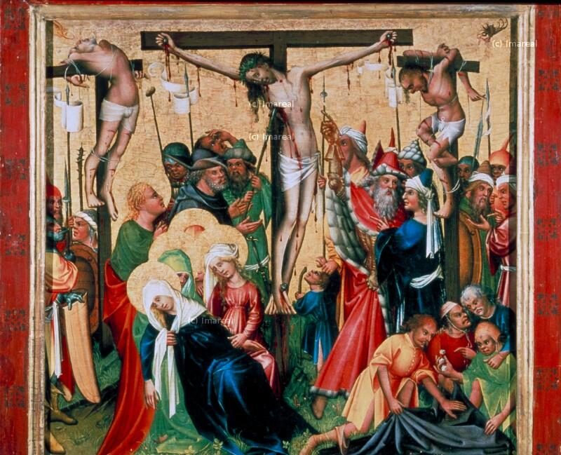 Kreuzigung Christi von Konrad von Friesach