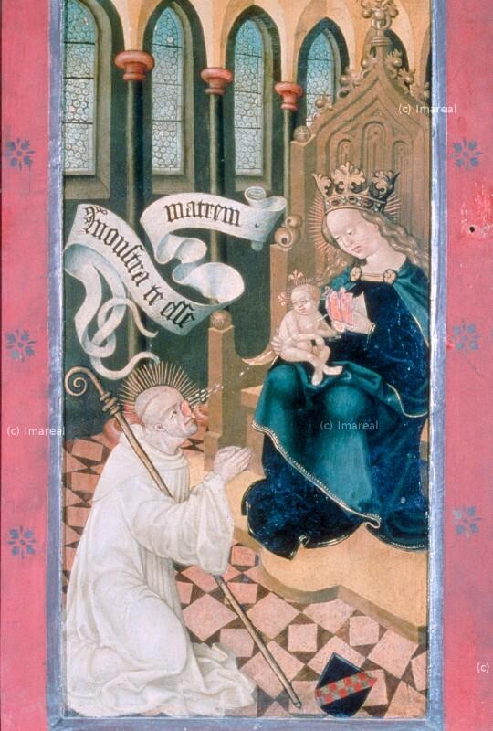Lactatio des Hl. Bernhard