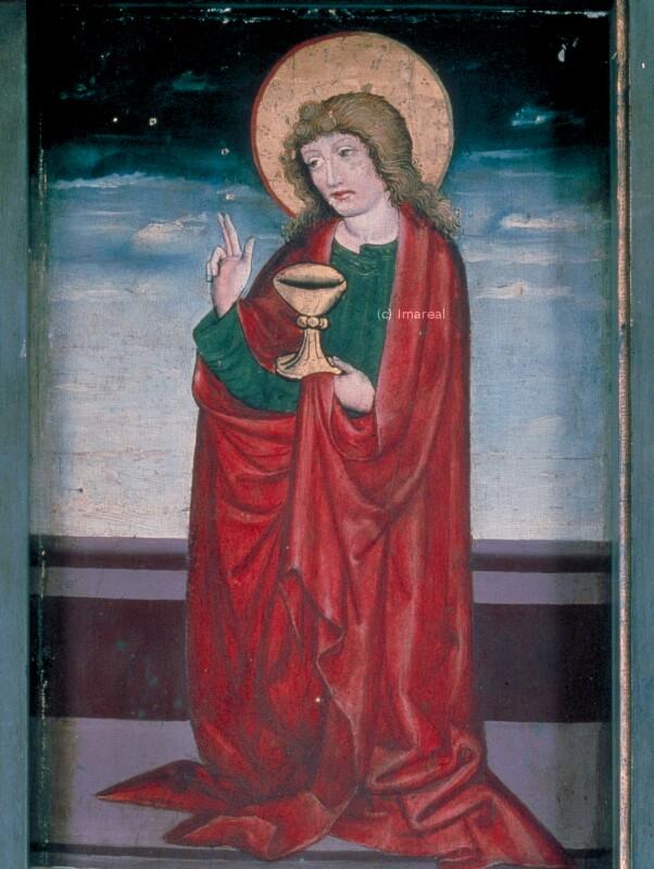 Hl. Johannes Evangelist von Meister des Bad Ausseer Friedrich-Altars