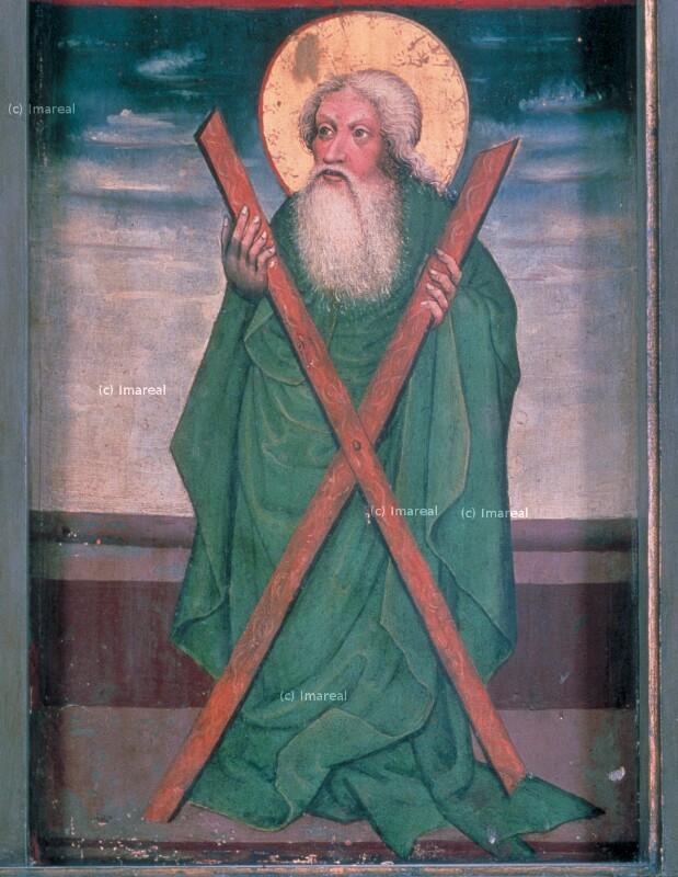 Hl. Andreas von Meister des Bad Ausseer Friedrich-Altars