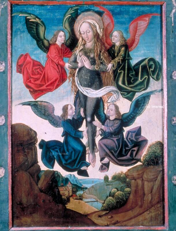 Verzückung der Hl. Maria Magdalena von