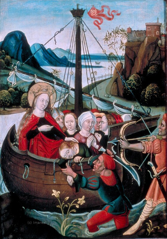 Martyrium der Hl. Ursula und der elftausend Jungfrauen von