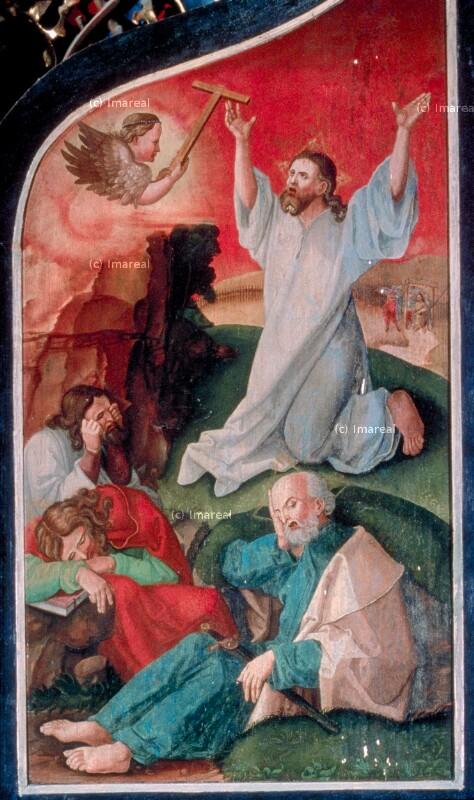 Gebet Jesu am Ölberg von Lederer Jörg