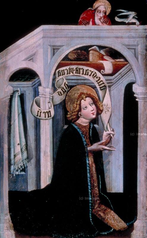Verkündigung an Maria von Konrad von Friesach