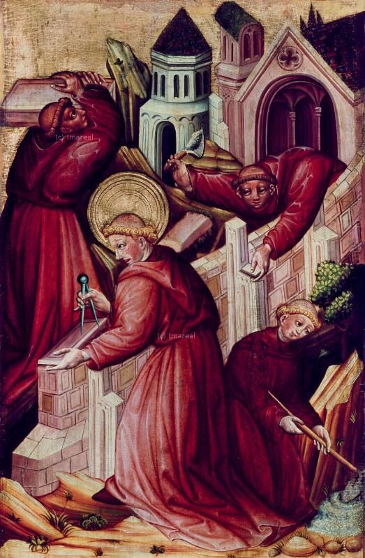 Klostergründung durch den Hl. Leonhard von Konrad von Friesach