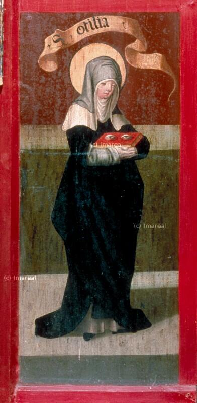 Hl. Ottilie von Melchior von St. Paul