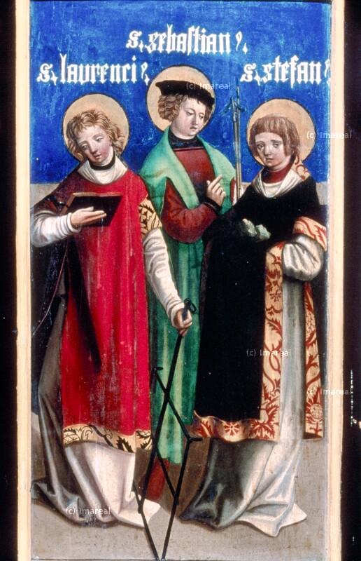 Hl. Laurentius von Melchior von St. Paul