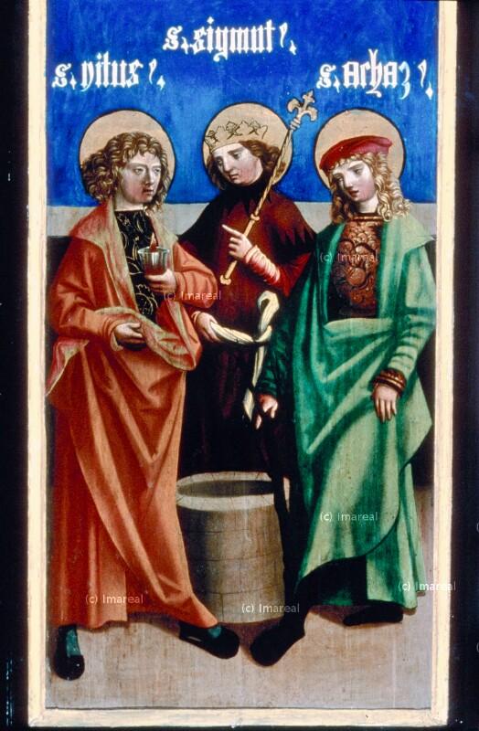 Hl. Vitus von Melchior von St. Paul