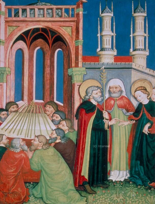Erwählung des Hl. Joseph von Scherhauff Lienhard von Brixen