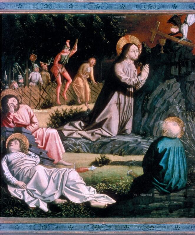 Gebet Jesu am Ölberg von Meister von Uttenheim