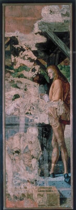 Josef wird in den Brunnen geworfen von Pacher Michael