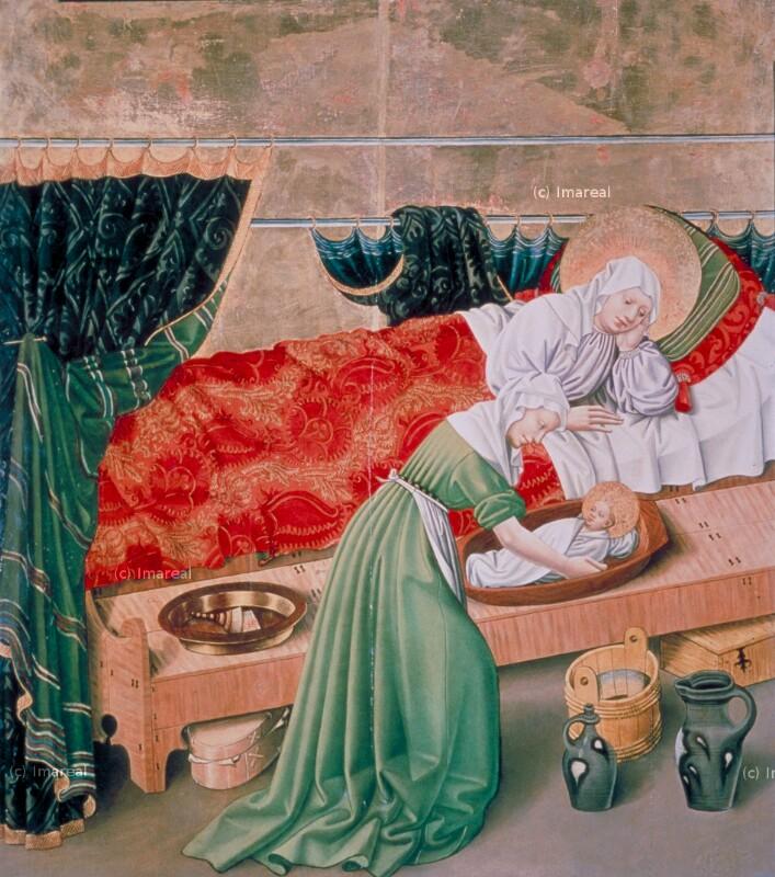 Geburt Mariens von Meister des Albrechtsaltars