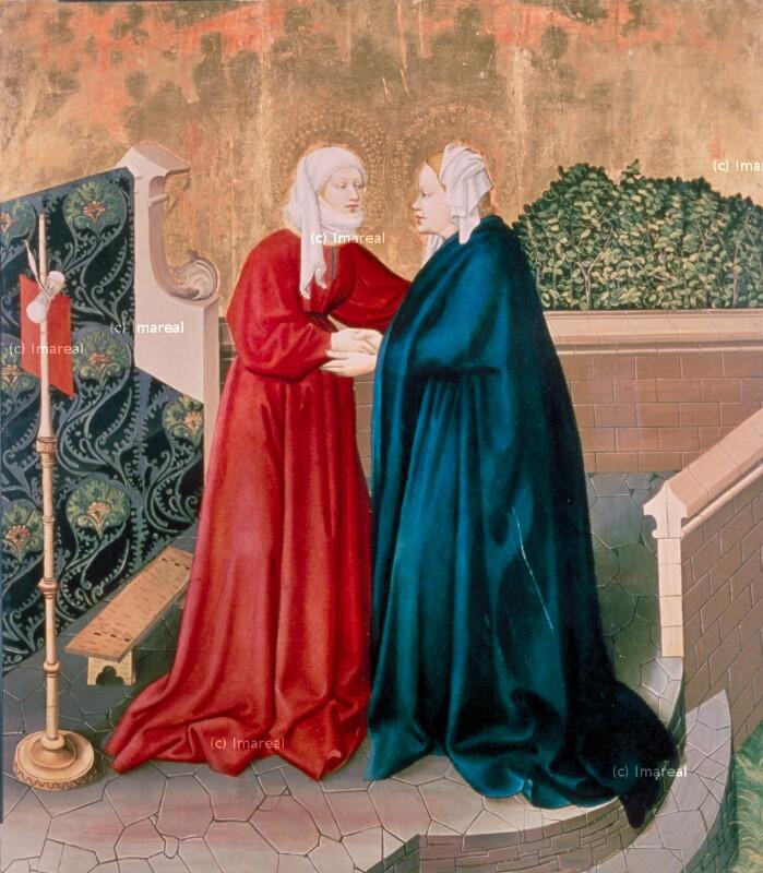 Heimsuchung Mariens von Meister des Albrechtsaltars