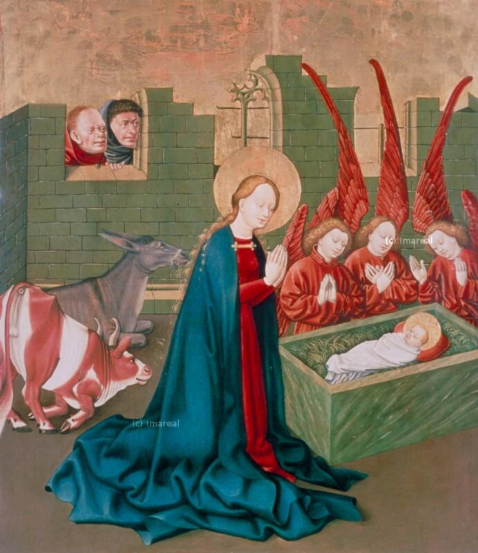 Geburt Christi von Meister des Albrechtsaltars