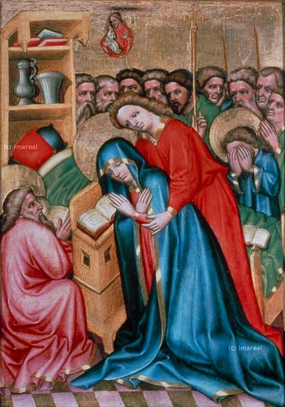 Tod Mariens von Meister des Weildorfer Altars