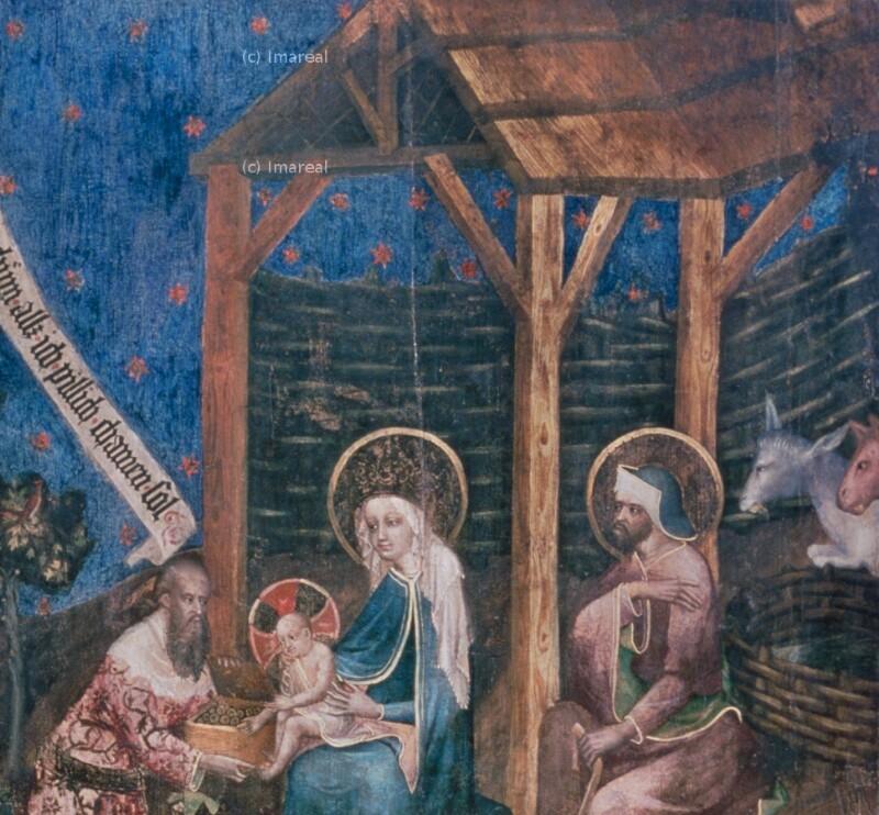 Anbetung der Könige von Meister des Pfarrwerfener Altars