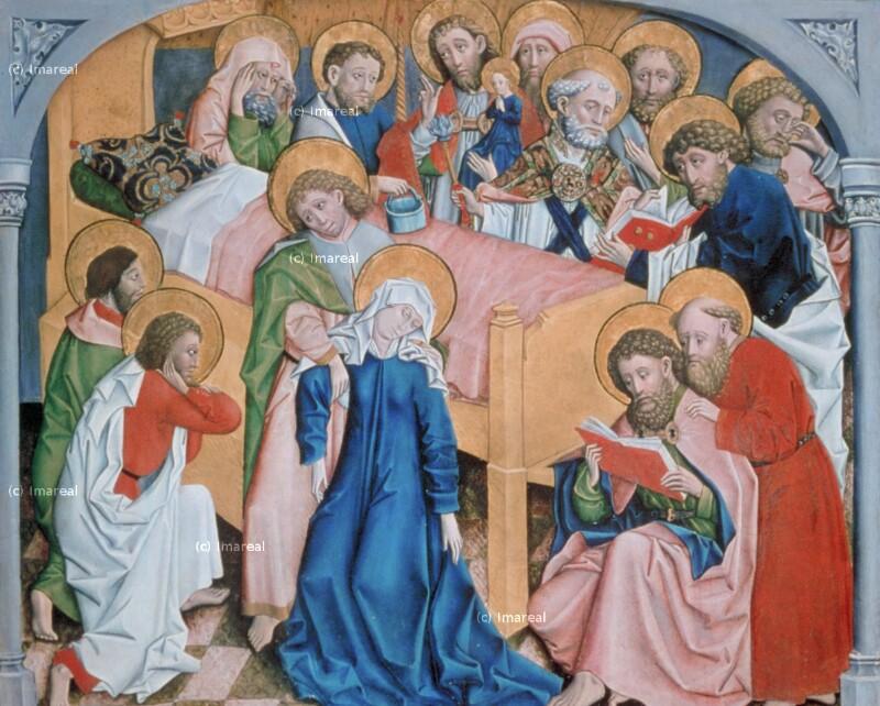Tod Mariens von Meister von St. Leonhard bei Tamsweg