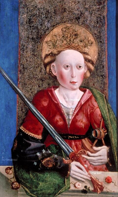 Hl. Katharina von Meister von St. Leonhard bei Tamsweg